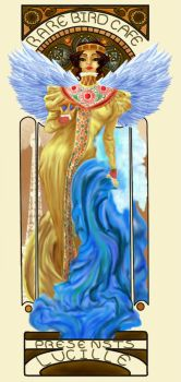 Art Nouveau-Lucille by Kitty-Olenic