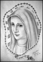 Virgin Mary design by gilrizzo