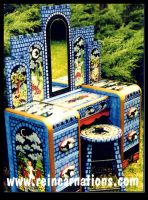 Enchanted Castle Vanity by ReincarnationsDotCom