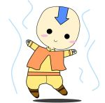 Mini Aang by Emily-Can-Fly
