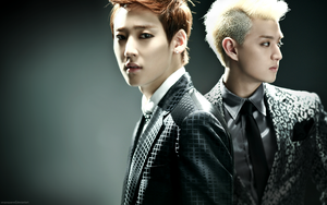 'Stop Girl' Wallpaper Series: Elvin -Kevin+Eli- by seopsquared