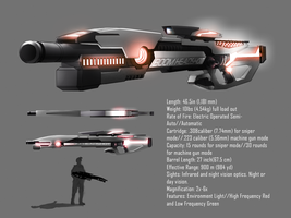Liberico Sniper/Assault Rifle Design 001 by xvortexbladex