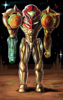 Samus Aran by ShadowHunterCIS