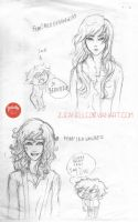 Genderbend: Nico di Angelo and Leo Valdez by zjeanelle