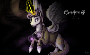 My Little Supernatural r63 Celestia - SpeedPaint by Baisre