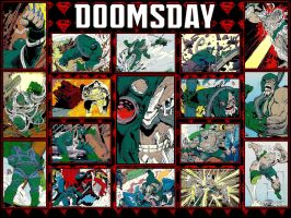 DOOMSDAY! - The Death Of Superman SkyBox Card WP by Superman8193