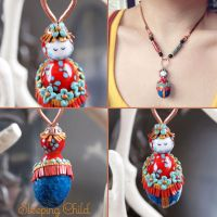 Sleeping Child Necklace by popnicute