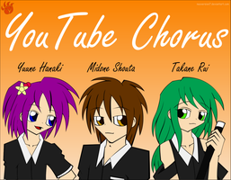 YouTube Chorus Mascots by NeoVersion7