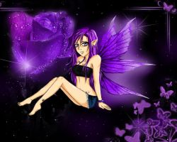 The Purple Fairy by XxRoseAlchemistxX
