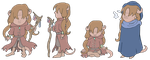 Dungeons and Dragons: Maruphis (Chibi-Style) by Tabascofanatikerin