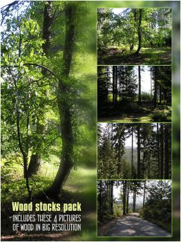Wood stocks pack by JenniStock
