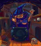 Witch's Insomnia by pauscorpi