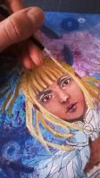 WIP - Blond dreadlocks by Mirving