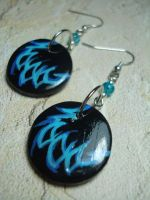 WoW Druid Cat Form Earrings by Erisana
