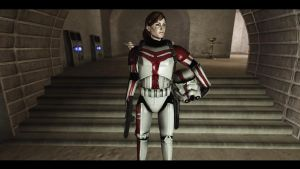 Female Stormtrooper 3 by CptRex