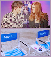 Karen Gillan and Matt Smith by alitaz