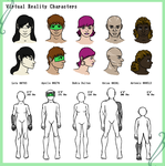 Virtual Reality Characters by AEIOUworks