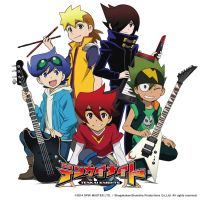 Tenkai Knights CD cover by xxxanonymous