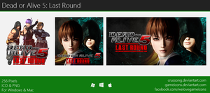 Dead or Alive 5: Last Round - Icon by Crussong