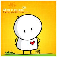 Where is my love? v.2 by BIGLI-MIGLI
