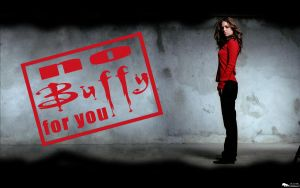 No Buffy For You by sicksister