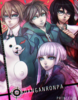 Dangan Ronpa : High School of Hope and Despair by Londei