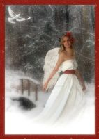 December Angel by PaintedOnMySoul