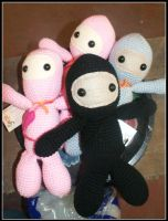Ninjas!!! by SecondHandCaravan