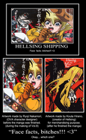 Hellsing motivational - Face Facts / Reply by RobertFiddler