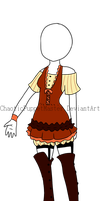 [Adoptable Clothes] Sunset Dust ((CLOSE)) by ChaoticPuppetMaster