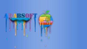 Adabsoft logo painting by adabsoft