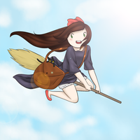 Kiki's Delivery Service OC Crossover by AmethystHavana