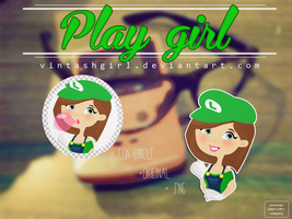PLAY GIRL 02 - by vintashgirl