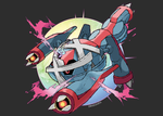 Mega Metagross (FAN-MADE) by Dragonith