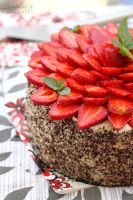 Chocolate mascarpone cake by kupenska