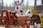 Calvin and Hobbes Ponies by grossclub