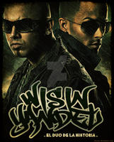 Wisin y Yandel by elmoye