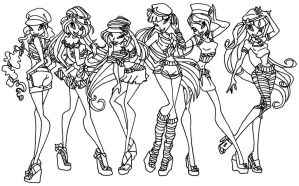 Winx sailor outfits by elfkena