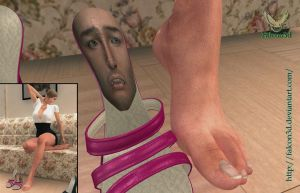 Commission  - human insole by Falcon3D