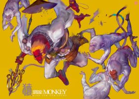 Monkey by Cushart