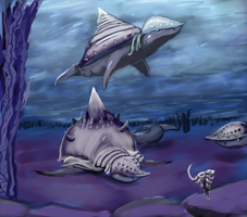 Shell Sharks by HardyRR