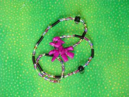 Purple Eternity Necklace by Lady-Chika
