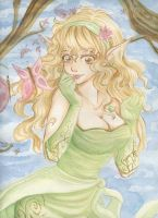 elves dance by ka0rie