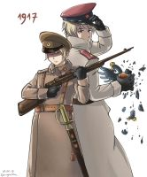 Russian Revolution 1917 by Oprisnyashka