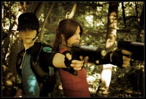 Jill and Claire | Resident Evil by Quicky81