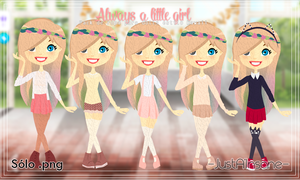 Pack de ropa kawaii style para dolls by JustAInsane