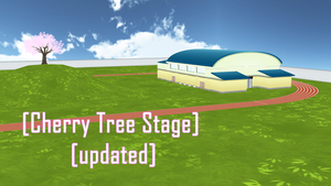 [MMD] [Cherry Tree Stage] [updated] by BooMaker