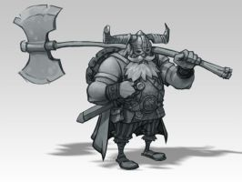 viking sketch by dron111