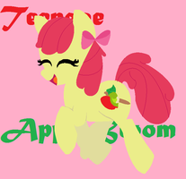 Teenage Applebloom by HandN47
