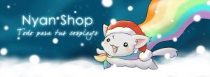 Nyan Shop christmas cover by Almiux19